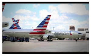 New American Airlines planes