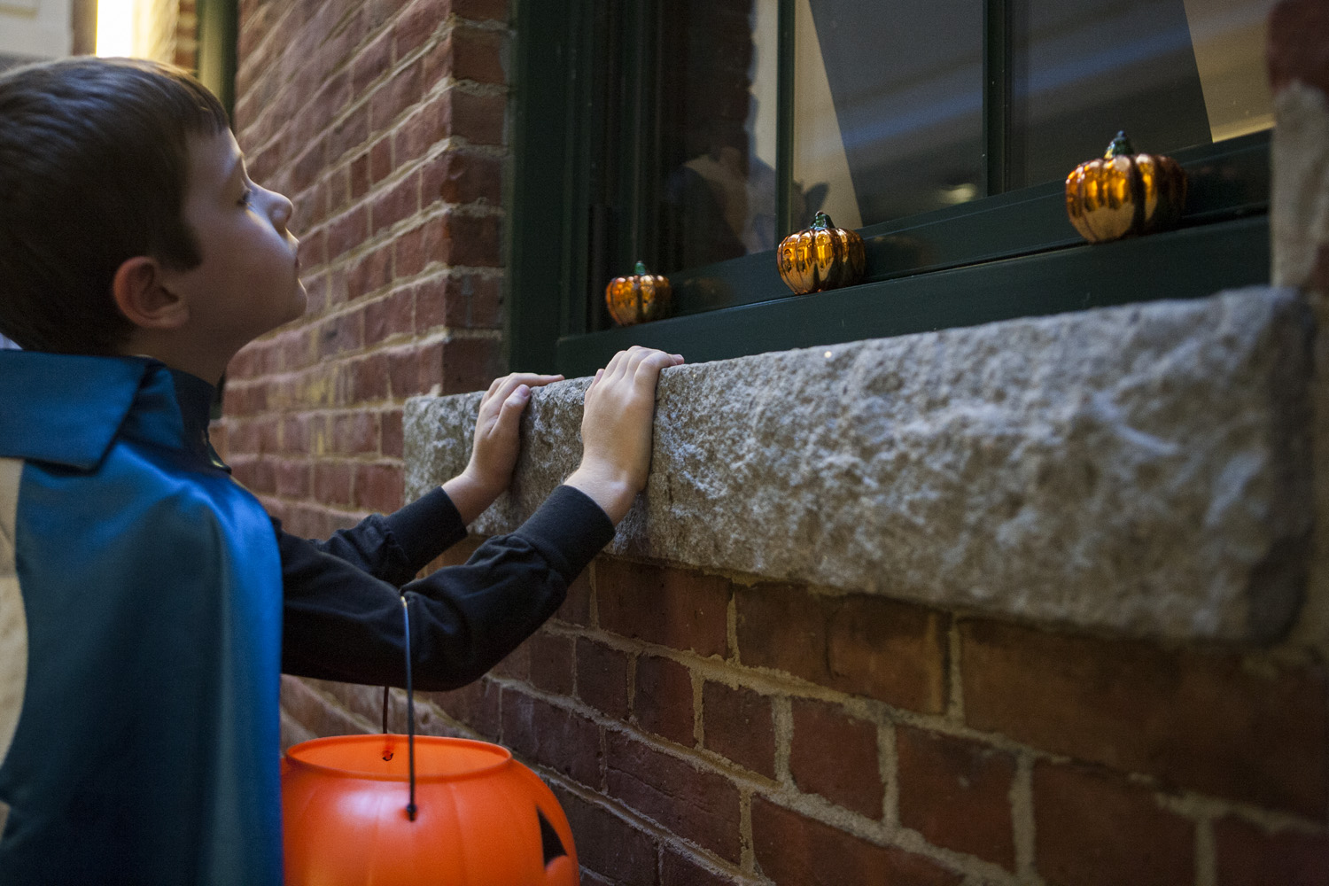 learn good customer service skills from trick treating