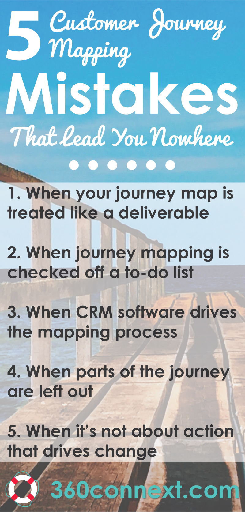 customer journey mapping mistakes