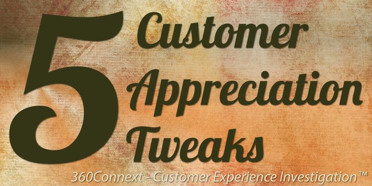customer apprecuiation