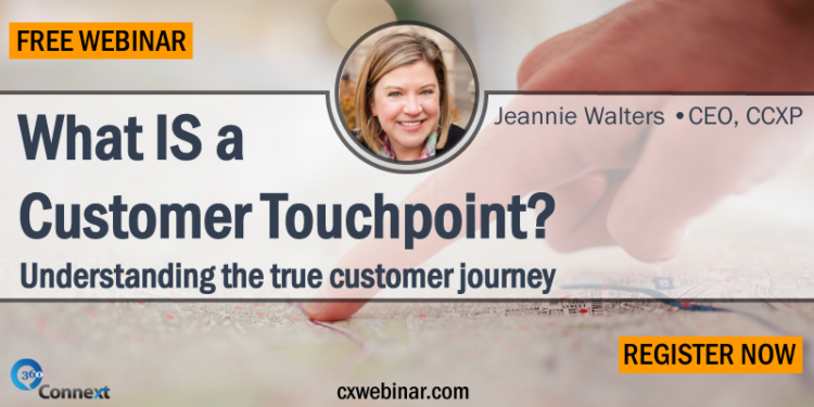 Free Customer Touchpoint Webinar