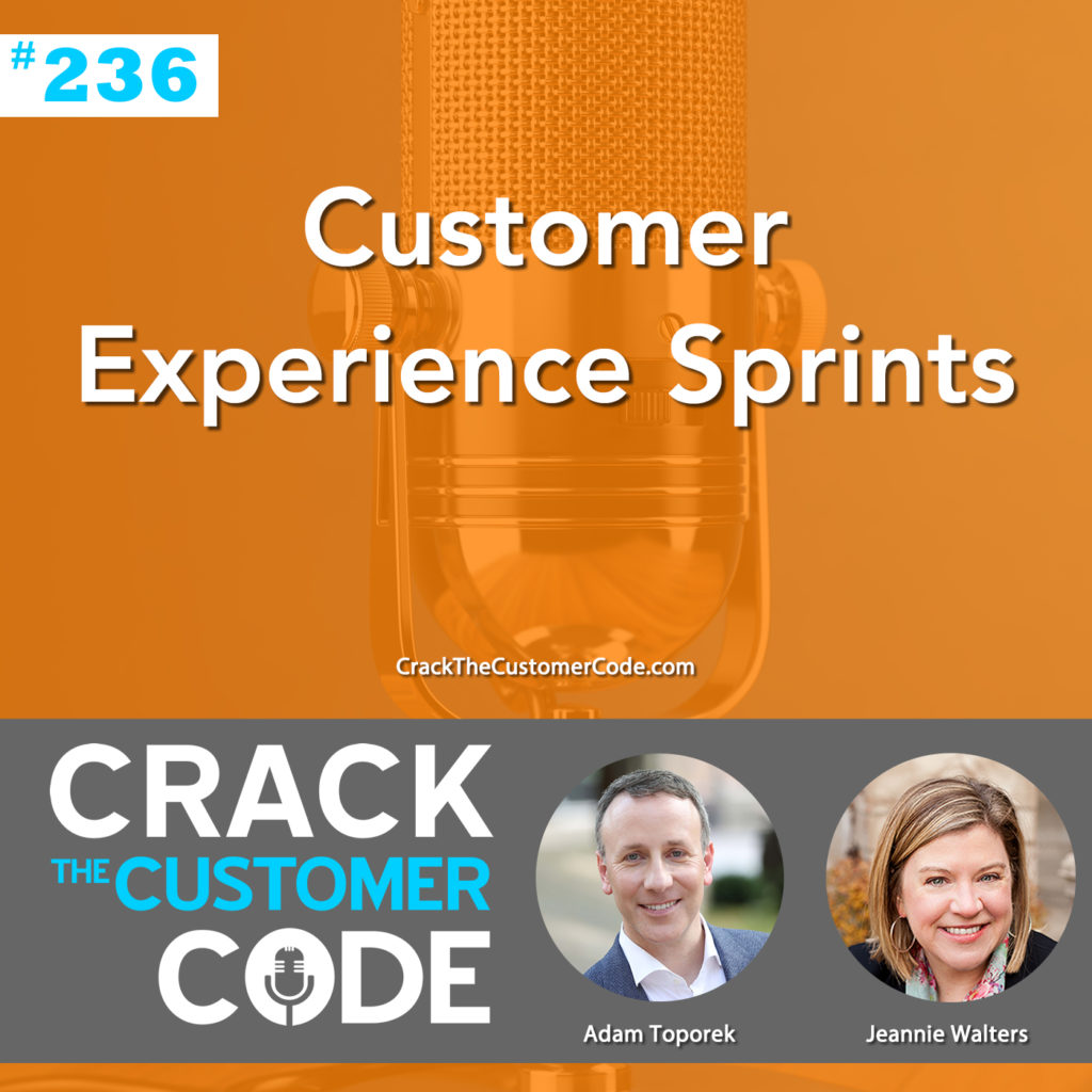 Crack the Customer Code #236: Customer Experience Sprints