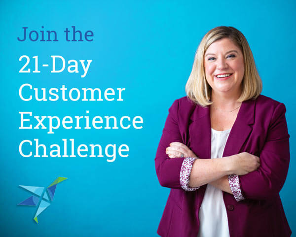 Experience Investigators 21-Day Customer Experience Challenge Title Card