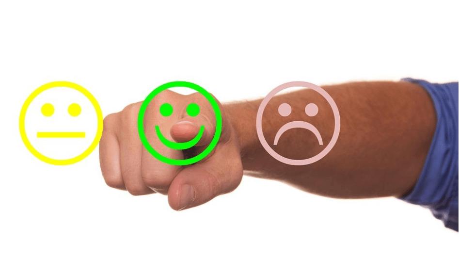 Image of feedback emoji