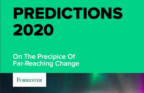 Forrester 2020 Predictions Header